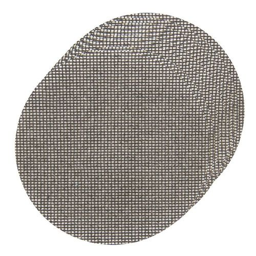 10 Pack Silverline 678383 Hook & Loop Mesh Sanding Discs 225mm 80 Grit